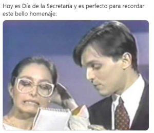 Los mejores memes en redes sociales para celebrar el Día de la Secretaria