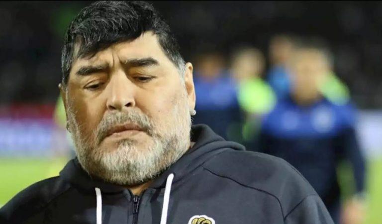 Diego Maradona Su increíble cambio físico tras dejar el alcohol (FOTOS)