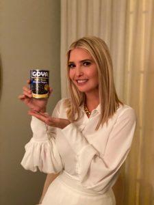 Ivanka Trump protagoniza MEMES tras promocionar lata de frijoles