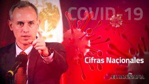 México supera las 52 mil muertes de Covid-19 hoy 8 de agosto