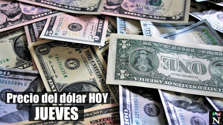 Precio del dólar jueves