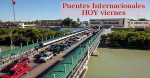 Puentes Internacionales Nuevo Laredo EN VIVO HOY viernes 24 de julio
