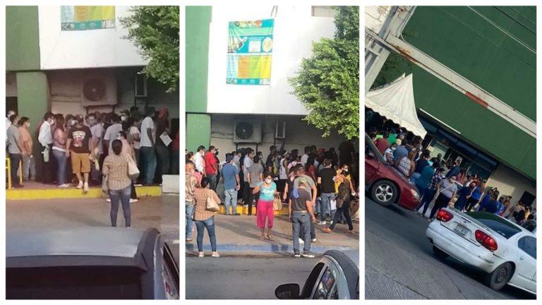 Sin sana distancia Saturan consulta en Clínica 78 del IMSS en Nuevo Laredo
