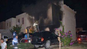 Incendio que acabó con la vida de un maestro y su familia en los Fresnos