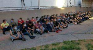 Patrulla Fronteriza detiene a 109 indocumentados