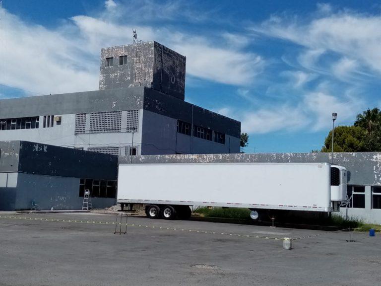 Llega segunda caja tráiler refrigerada a Nuevo Laredo