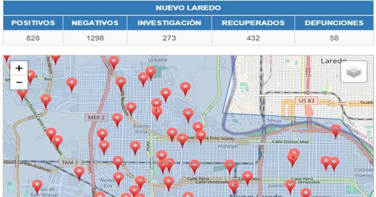 Los casos de Covid en Nuevo Laredo se mantienen a la alza, por lo te recomendamos mantenerte en casa y si sales extremar precauciones