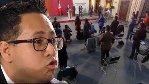 Periodista de Tv Azteca se niega a guardar un minuto de silencio por víctimas de Covid-19