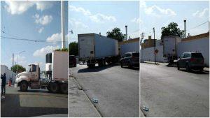 Llega tráiler refrigerado para cadáveres de Covid-19 a Nuevo Laredo