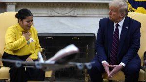 Se reúne Trump con familiares de Vanessa Guillén; impulsarán ley contra acoso en el ejército