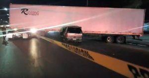 Accidente en Nuevo Laredo cobra la vida de conductor de camioneta en la Carretera Nacional.