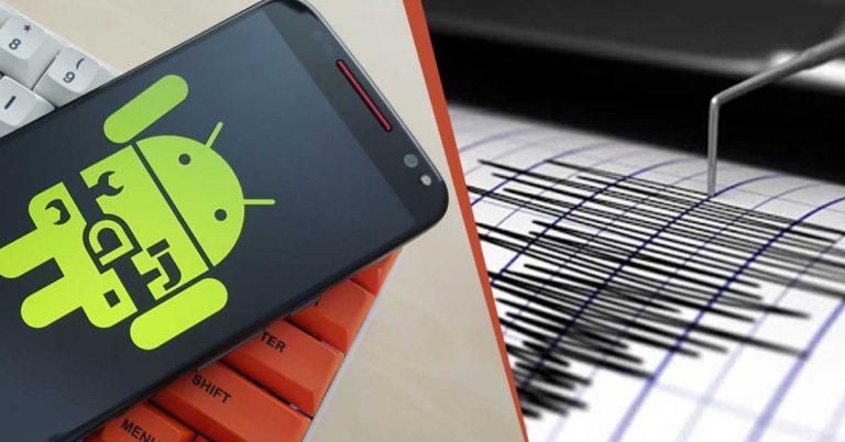Android un detector de sismos