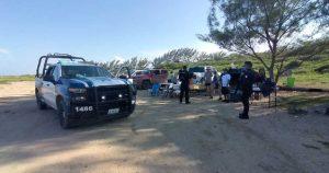 Desalojan a más de 100 personas que hacían 'carnita asada' en la playa
