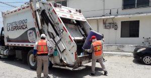 Familiares de personas con Covid-19 no colocan listón rojo en sus residuos