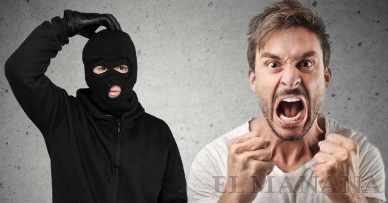 Ladron golpeado en puesto de quesadillas
