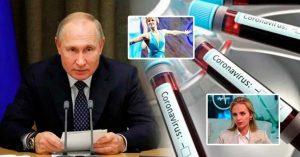 Hija de Vladimir Putin recibió la vacuna Rusa contra el coronavirus