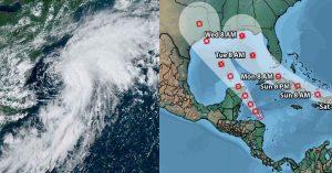 HISTÓRICO: Dos posibles huracanes entrarán a la vez en EU