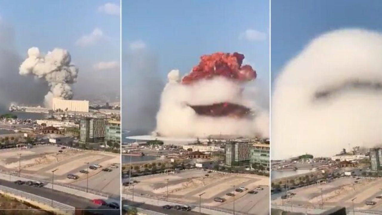 Explosión masiva en Beirut destruye edificios y parte del puerto ...