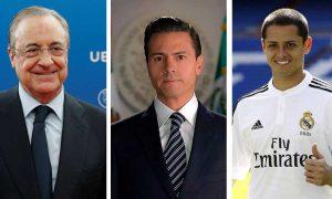 Ligan al dueño del Real Madrid y al Chicharito en caso Lozoya