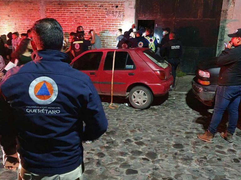 Más de 200 jóvenes arman megafiesta en Querétaro