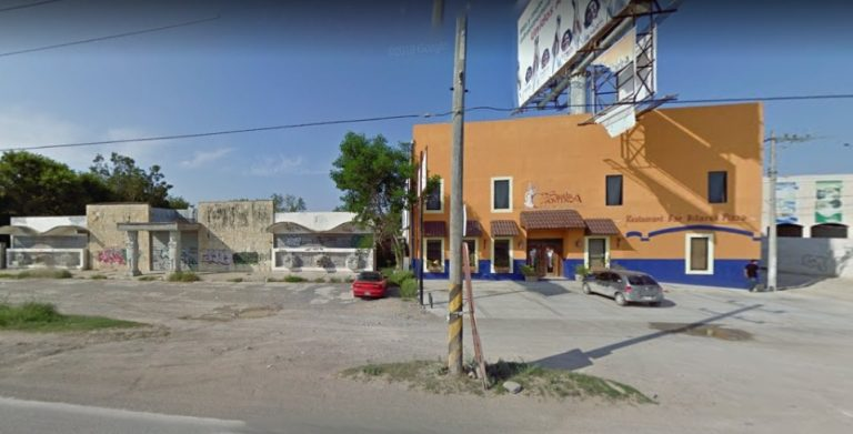 Colonia Almaguer, donde fue localizado el cuerpo del joven desaparecido en Reynosa, Tamaulipas.