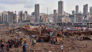 2,750 toneladas de nitrato de amonio causaron la explosión de Beirut