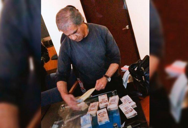 Hallan a secretario de 'Billy' Álvarez con dinero y documentos confidenciales