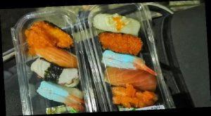 VIDEO: Compran sushi y descubren que brilla en la oscuridad