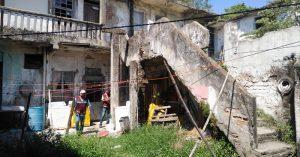 Detectan en Madero vecindad ¡a punto de derrumbarse!