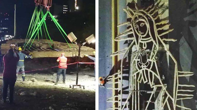 La Virgen de Guadalupe será restaurada