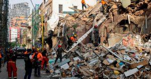 Detectan signos de vida bajo los escombros, a un mes de la explosión en Beirut