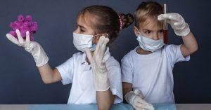 Los niños podrían tener anticuerpos y estar enfermos de Covid-19 al mismo tiempo