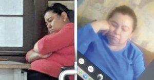 Maestra se duerme en su propia clase virtual