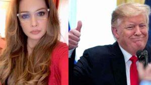 Paty Navidad apoya a Trump; dice que es lo mejor para México