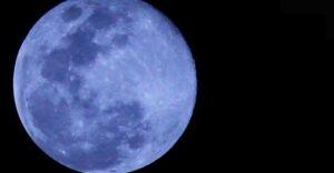 """¿Qué es la """"luna azul"""" de halloween y cómo verla?"""
