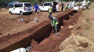 Quien no use cubrebocas deberá cavar tumbas como castigo