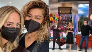 """Andrea Legarreta regresa a """"Hoy""""; así fue su recibimiento VIDEO"""