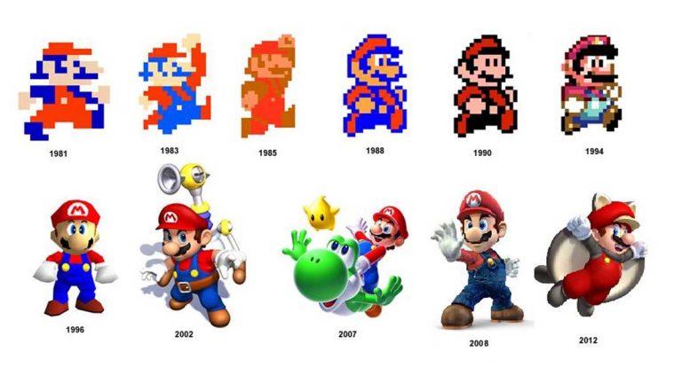 ¡Felicidades Super Mario Bros!