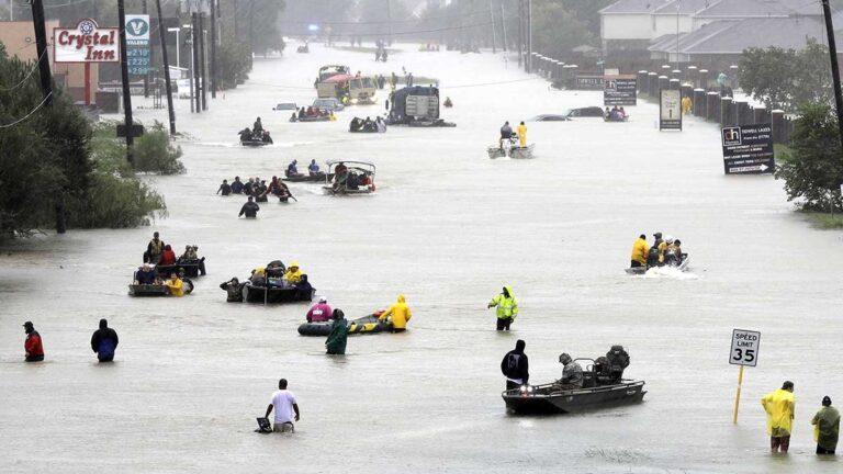 Inundaciones en Houston provocadas por Harvey en el 2017