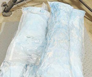 Confiscan carga de droga