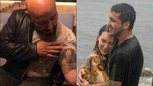 Lupillo Rivera no sabe qué hacer con su tatuaje de Belinda