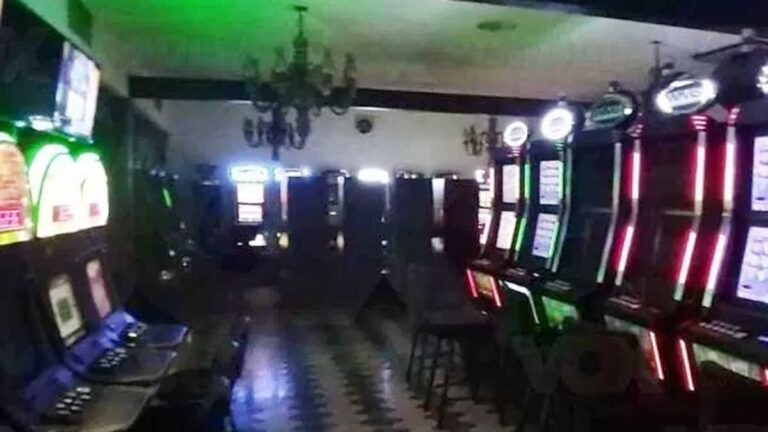 Máquinas tipo casino decomisadas