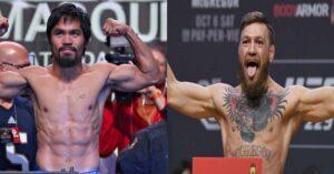 McGregor confirma pelea contra Manny Pacquiao