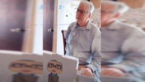 VIDEO: Dan 12 mil dólares de propina a repartidor de pizza de 89 años