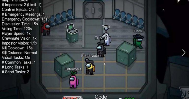 que es among us juego movil pc gratis