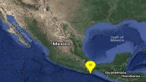 Se registra un sismo esta mañana de magnitud 4.4 en Oaxaca