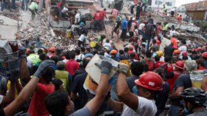 FOTOS: Las impactantes imágenes de los sismos del 19 de septiembre