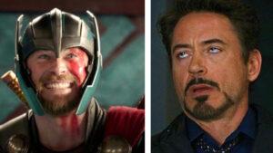 Thor publica el número de teléfono real de Tony Stark