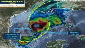 Se forma tormenta tropical 'Beta' frente a Tamaulipas