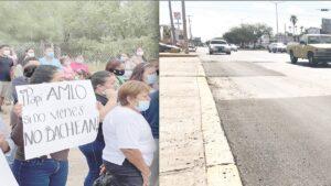'AMLO, si no vienes no bachean', dicen ciudadanos